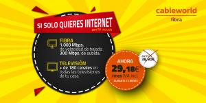 oferta fibra 1000 Mb