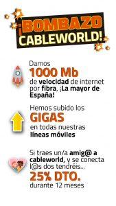 Bombazo cableworld