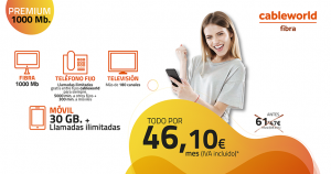 Súper precio de cableworld